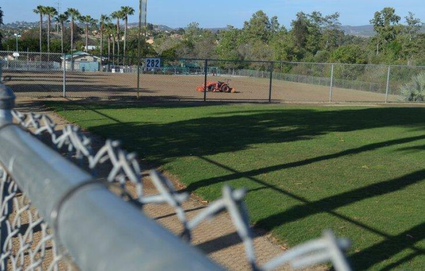 Encinitas Express Soccer wants field lighting at Leo Mullen Sports Park to extend playing time.