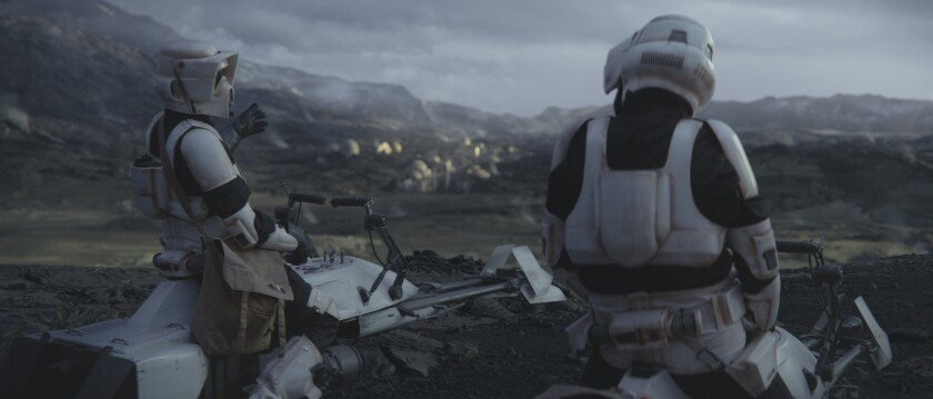 Scout Troopers in 'The Mandalorian'