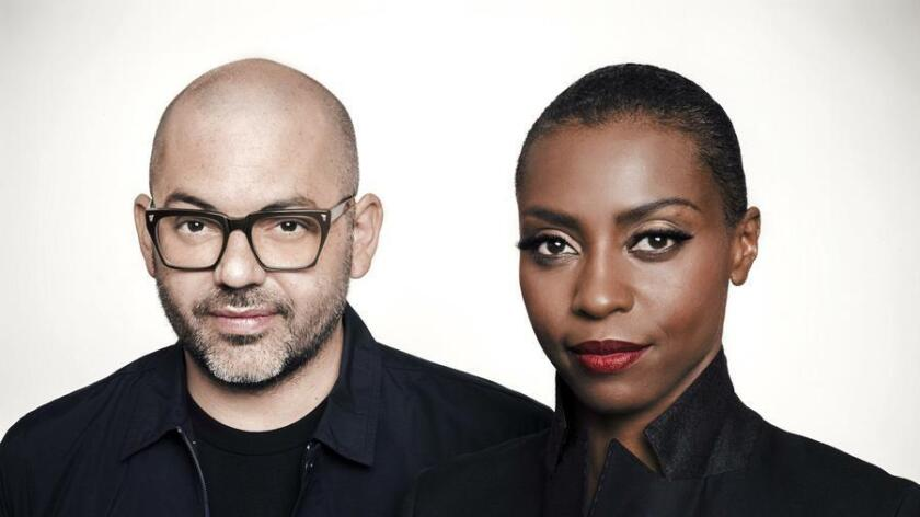 Ross Godfrey and Skye Edwards of Morcheeba (Daniela Glunz)