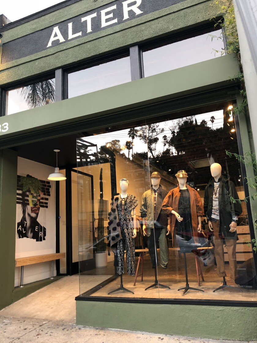 Brooklyn retailer Alter in October opened its first Los Angeles store, in Silverlake. The boutique c
