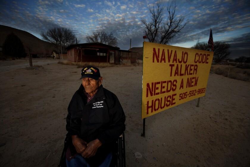Navajo Code Talkers ask for help with decrepit dwellings