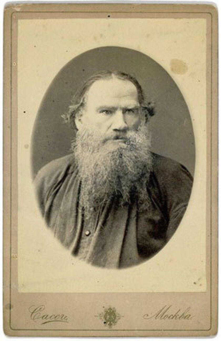 Leo Tolstoy circa 1880.