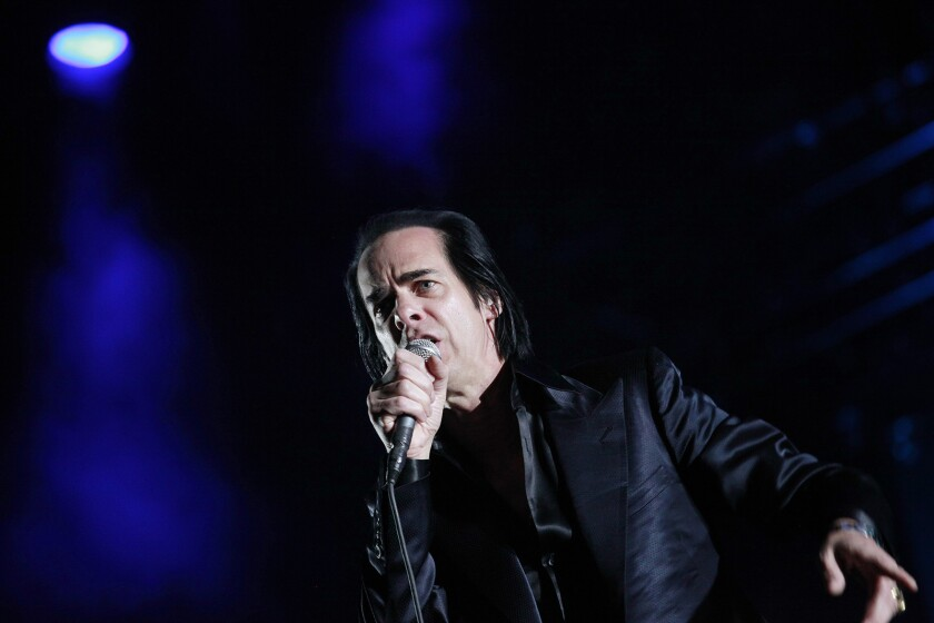 INDIO, CA -- APRIL 21, 2013-- Nick Cave & The Bad Seeds performed on the third and final day of the