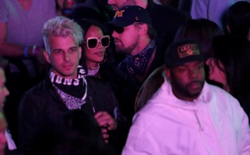 Rihanna y Leonardo son vistos juntos una vez más en público.