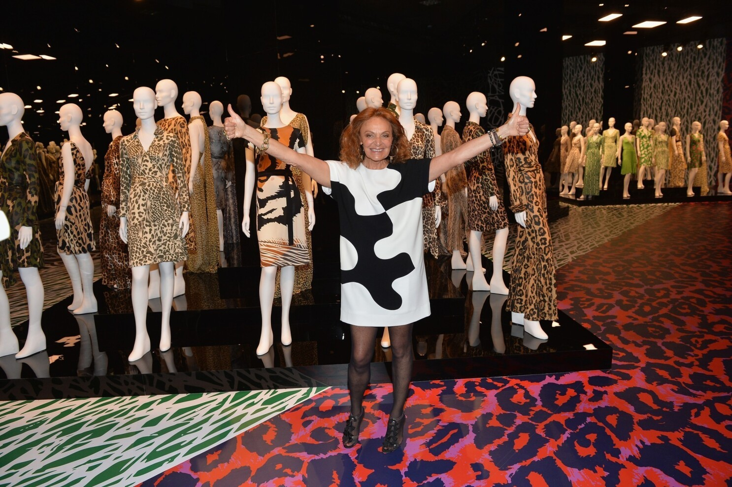 Diane Von Furstenberg Journey Of A Dress Exhibition Opens In L A Los Angeles Times