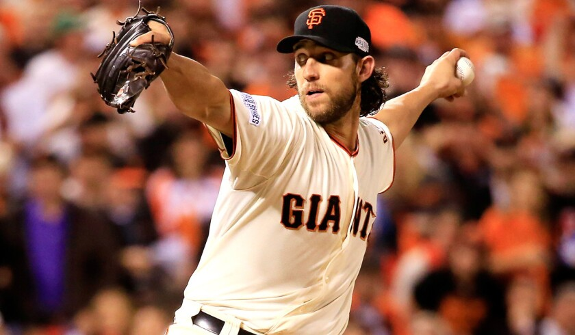 Giants starter Madison Bumgarner was expected to be heading to a playoff contender at the trade deadline, until San Francisco climbed back into the wild-card chase.
