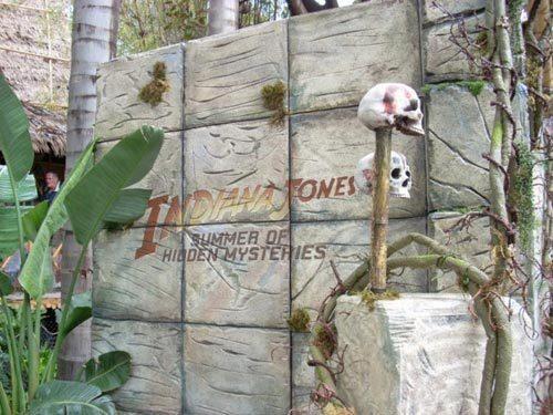 """Indiana Jones Summer of Hidden Mysteries"" at Disneyland"