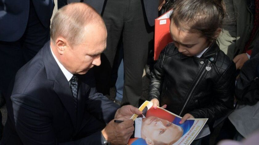 Russian President Vladimir Putin visits Siberian Federal District of Russia, Omsk, Russian Federation - 28 Aug 2018