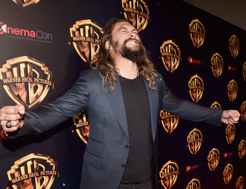 Actor Jason Momoa will play the title role in the upcoming Aquaman movie, set for release in December 2018.