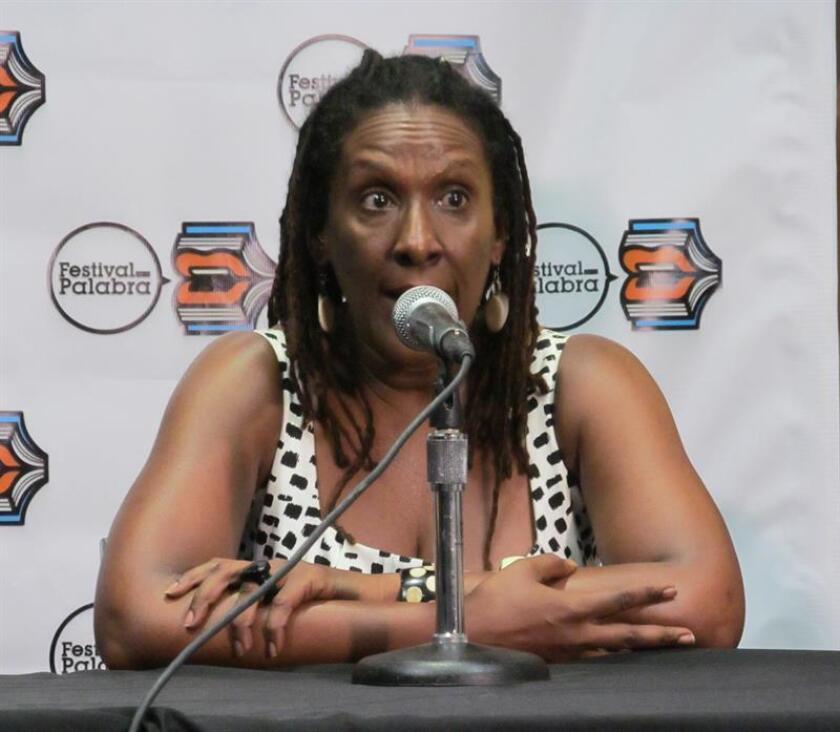 La escritora puertorriqueña Mayra Santos Febres, organizadora del Festival de la Palabra. EFE/Archivo