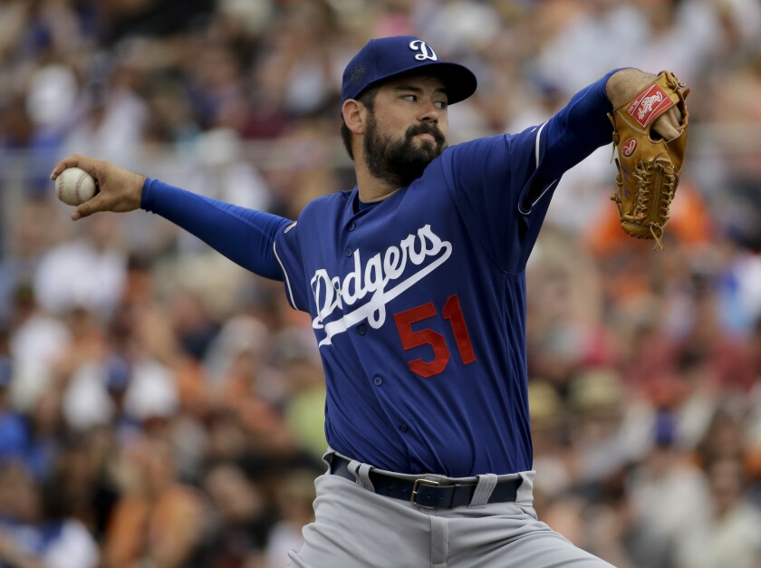 Dodgers pitcher Zach Lee throws against the San Francisco Giants.