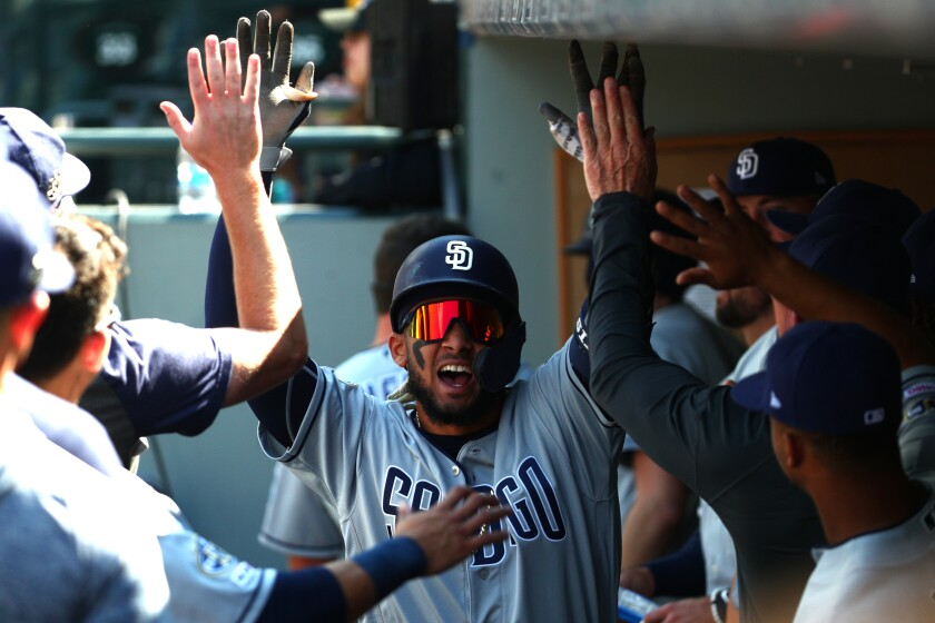 Fernando Tatis Jr. was one reason to celebrate in 2019, as well as a reason to be optimistic about the Padres' future.