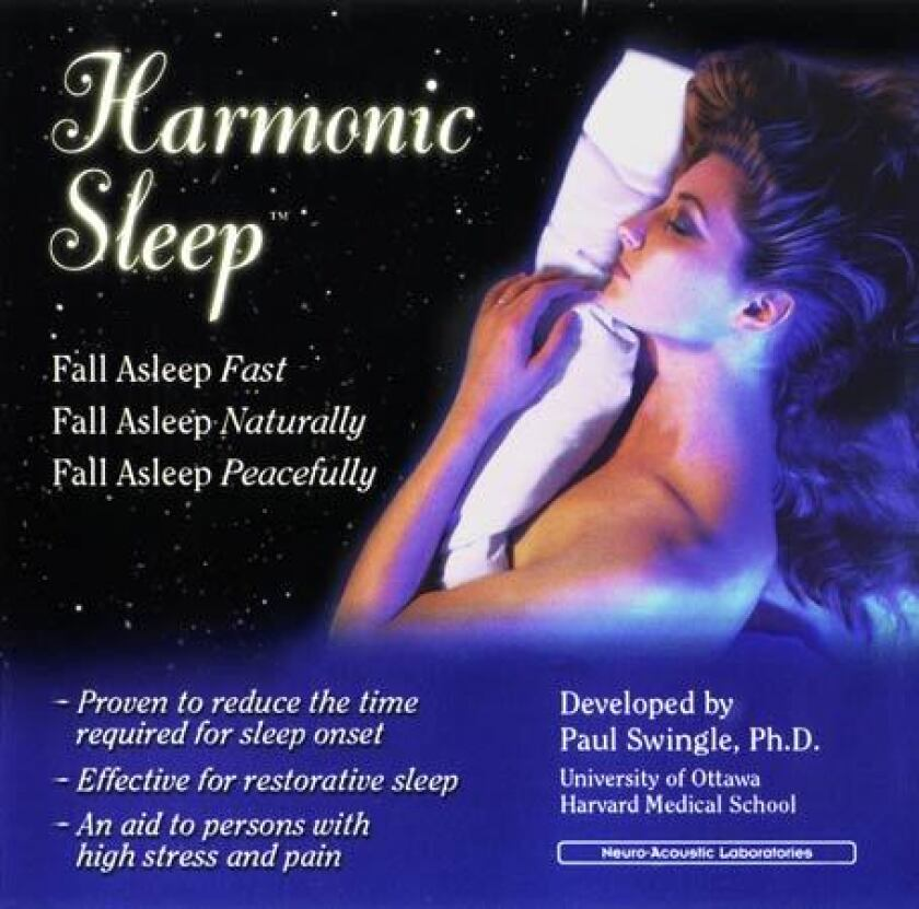 """The Sound Health Products website calls the Harmonic Sleep CD a """"breakthrough in sleep enhancement"""" that will give users a """"good night of natural, peaceful and deep sleep."""""""