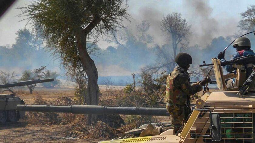 Attack on Boko Haram
