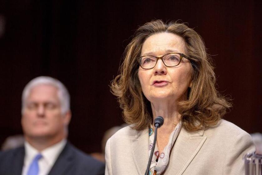 """La directora de la CIA, Gina Haspel, designó a Cynthia """"Didi"""" Rapp como subdirectora de análisis, lo que llevó por primera vez en la historia de Agencia Central de Inteligencia a tres mujeres al frente de sus principales divisiones. EFE/Archivo"""