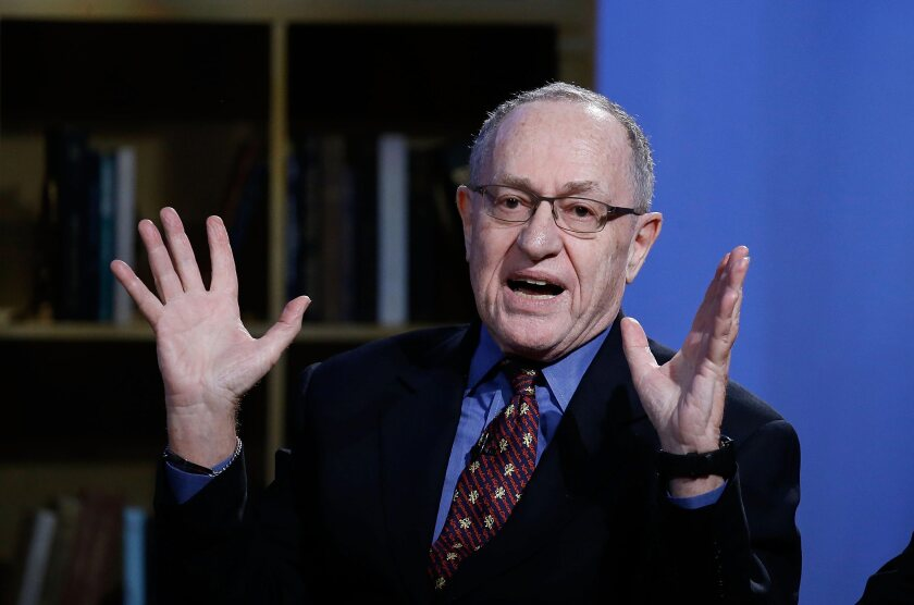 Alan Dershowitz in 2016.