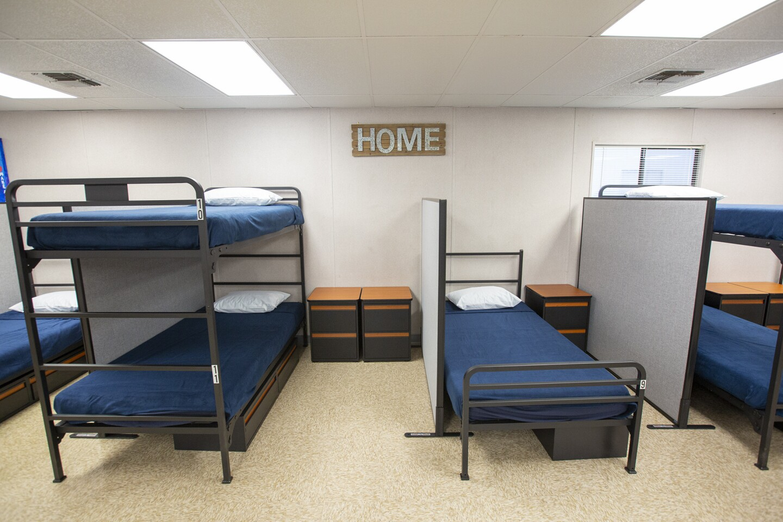 Photo Gallery: Anaheim emergency homeless shelter