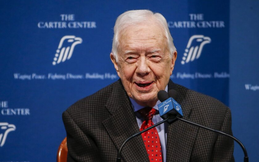 Jimmy Carter gives update on cancer diagnosis in Atlanta