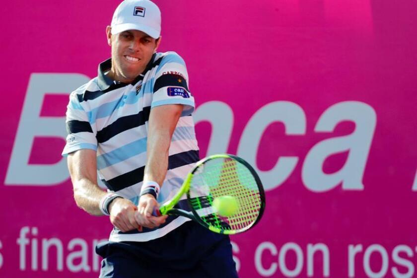 Sam Querrey, tenista estadounidense. EFE/Archivo