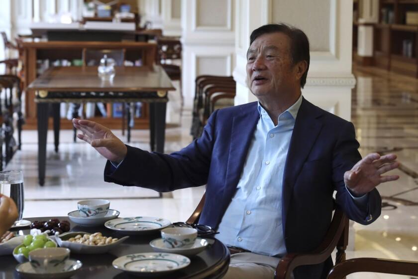 China Huawei Founder