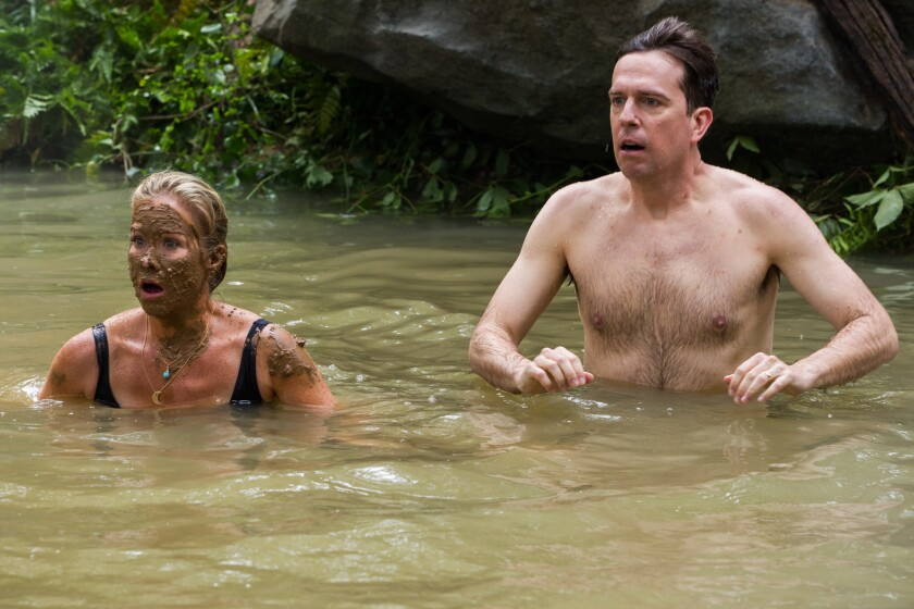 """Christina Applegate and Ed Helms in """"Vacation."""""""