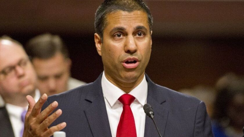 Commentary: The Democrats' net neutrality bill is political virtue signaling at its worst