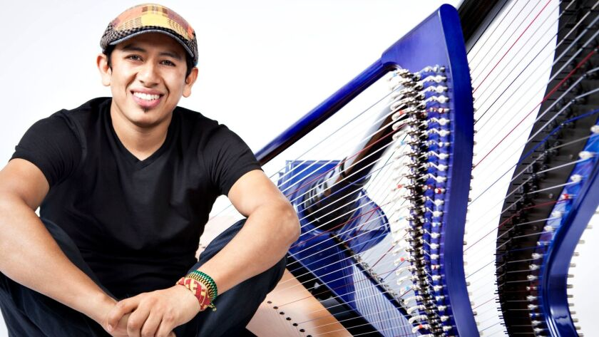 Eclectic Colombian harp virtuoso Edmar Castaneda is returning for his first San Diego concert in six years.