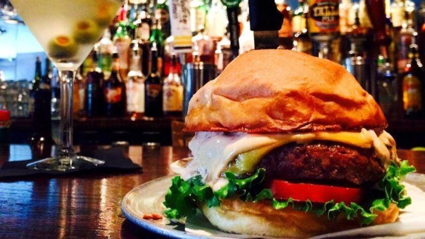 The Balboa burger at The Balboa Bar & Grill.