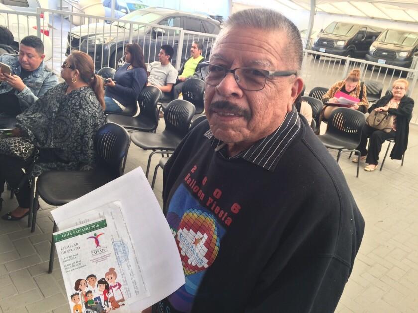 Felipe Hernández, residente en Bakersfield, viajará a México en las festividades de fin de año.