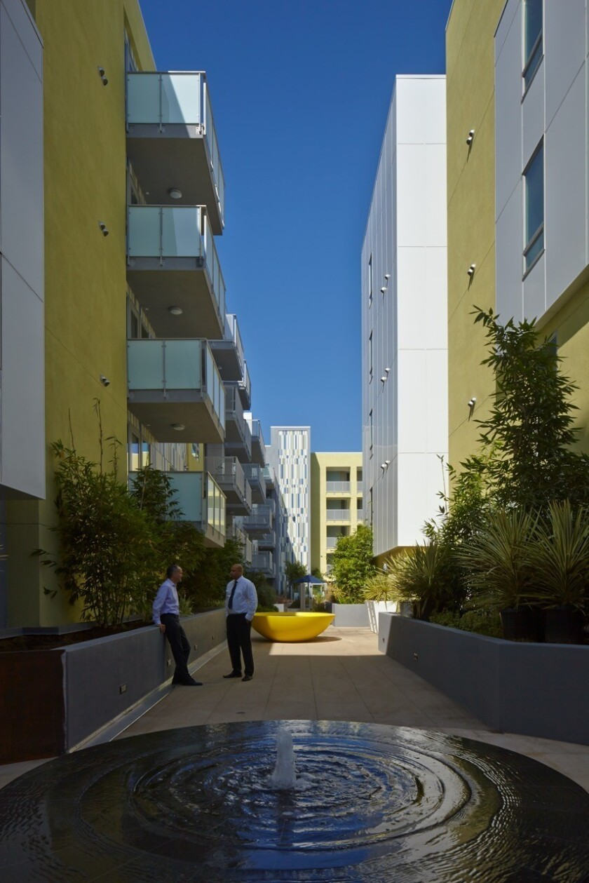 Deluxe Hesby apartments for creative types opens in North Hollywood
