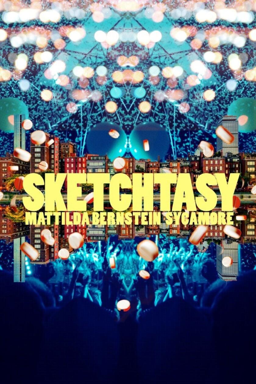 "A book cover for Mattilda Bernstein Sycamore's ""Sketchtasy."" Credit: Arsenal Pulp Press"