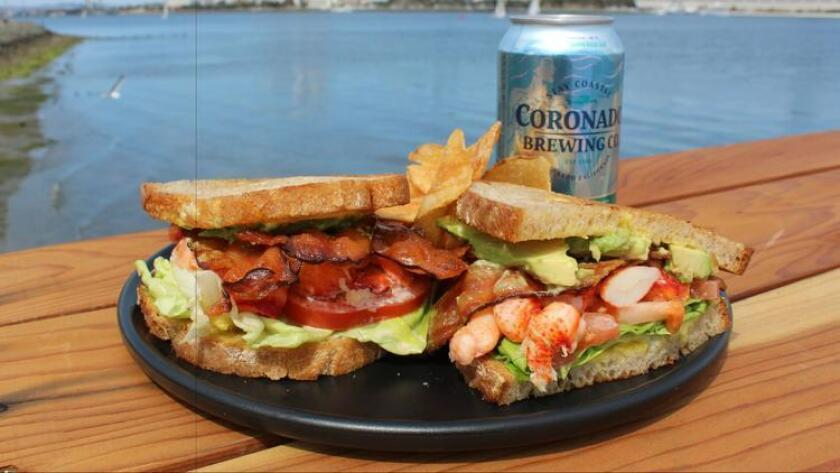 The Lobster BLTA at Current & Tides Restaurant in Coronado. (Courtesy photo)