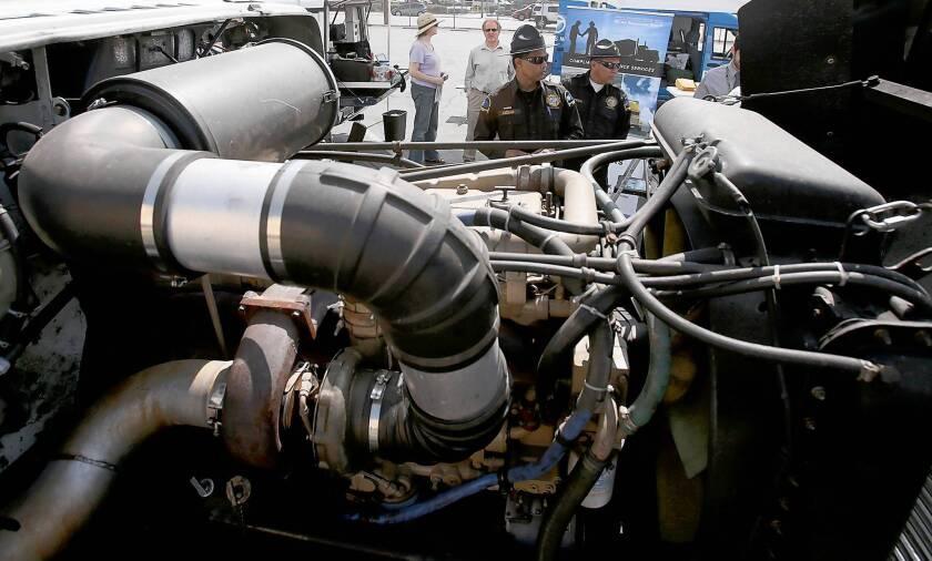 Air board has allies in diesel pollution crackdown: Truckers