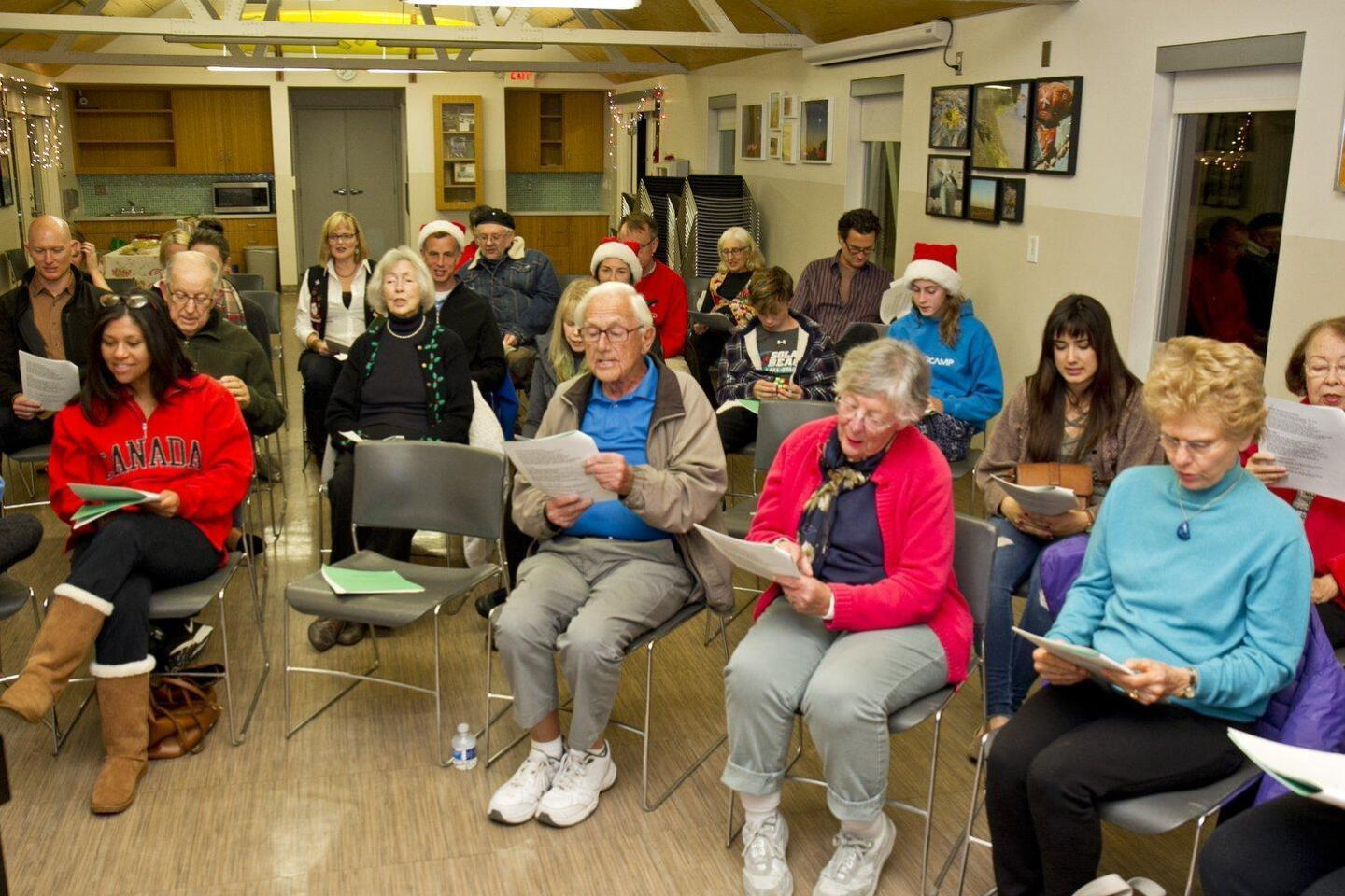 Annual Solana Beach 'Holiday Sing-Along