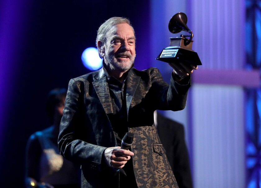 """Neil Diamond is among the music stars feted on a new """"Great Performances"""" on KOCE."""