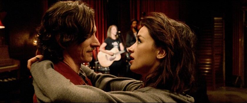 John Hawkes and Crystal Reed in 'Too Late'