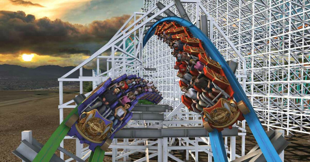Review: Meet summer's hottest new coaster, Twisted Colossus