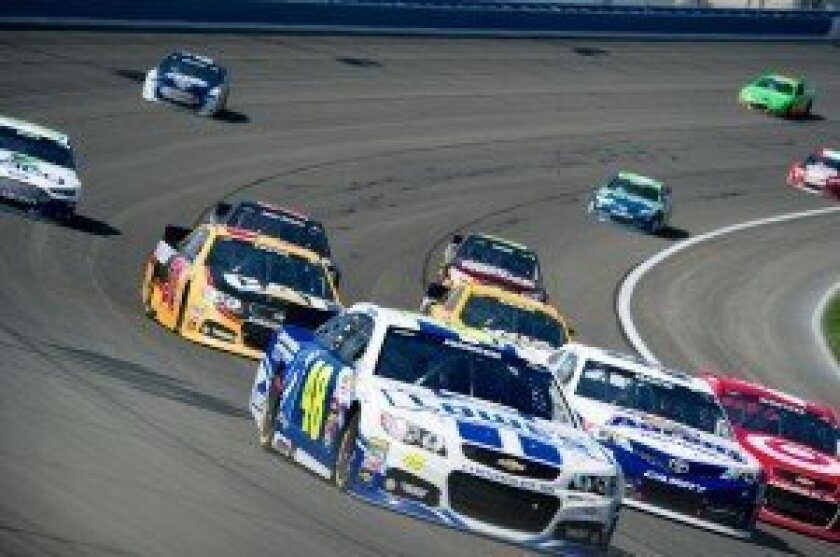NASCAR at Auto Club Speedway (Mar. 24/13)