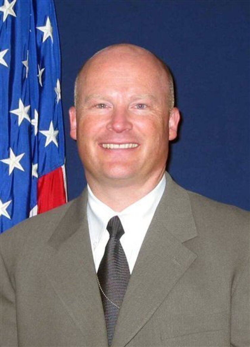 This image released by the U.S. Marshals Service shows deputy U.S. Marshal Richard J. Gardner, 48, who was wounded in the courthouse shooting in Las Vegas on Monday, Jan. 4, 2010. Federal authorities will conduct a nationwide review of courthouse security after a gunman killed a courthouse officer and wounded Gardner in Las Vegas, a senior official said Wednesday, Jan. 6, 2010. (AP Photo/Department of Justice)