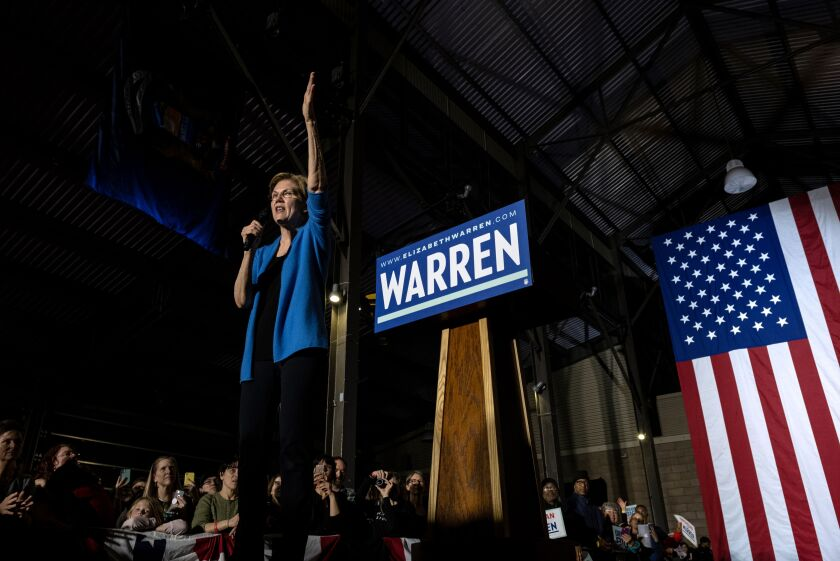 Elizabeth Warren rally
