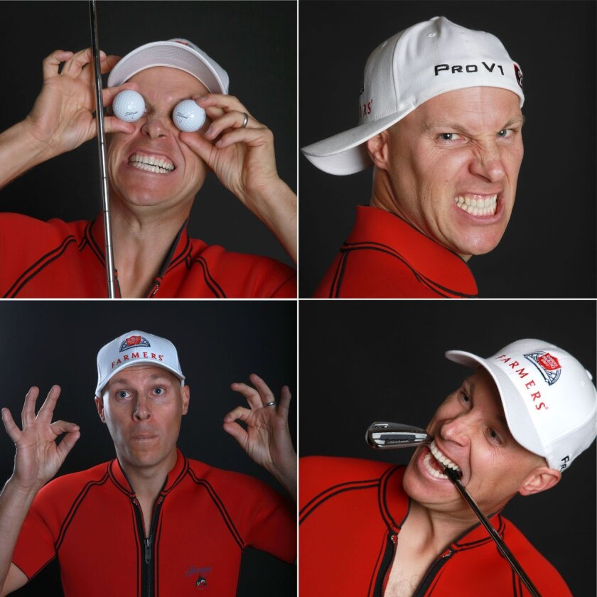 Golfer Ben Crane is a man of many faces.