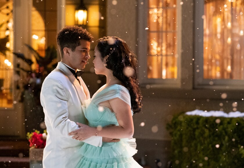 """""""To All the Boys: P.S. I Still Love You,"""" with Jordan Fisher and Lana Condor."""