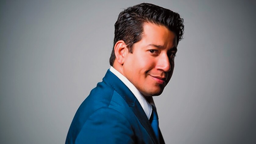 Humberto Borboa will be the narrator for 'The Composer Is Dead,' coming to Copley Symphony Hall in downtown San Diego, Oct. 20, 2019.