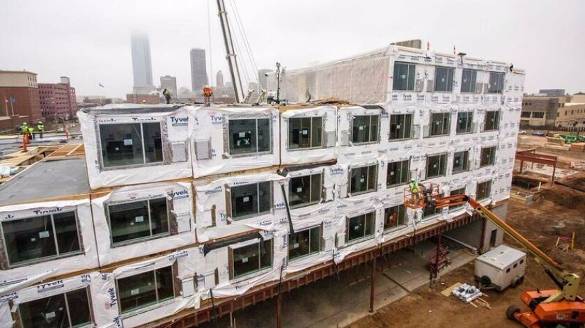Marriott turns to prefabricated rooms for quicker hotel