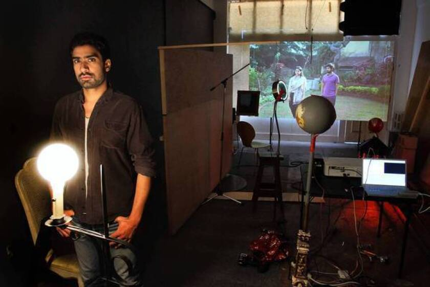 The biennial provided some funding for Vishal Jugdeo to shoot a video in Mumbai.