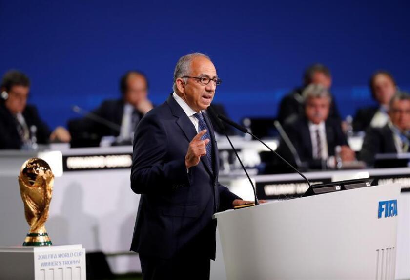El presidente de la Federación de Fútbol de Estados Unidos, el hispano Carlos Cordeiro. EFE/Archivo