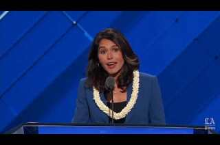 Watch Rep. Tulsi Gabbard of Hawaii nominate Bernie Sanders at the Democratic National Convention