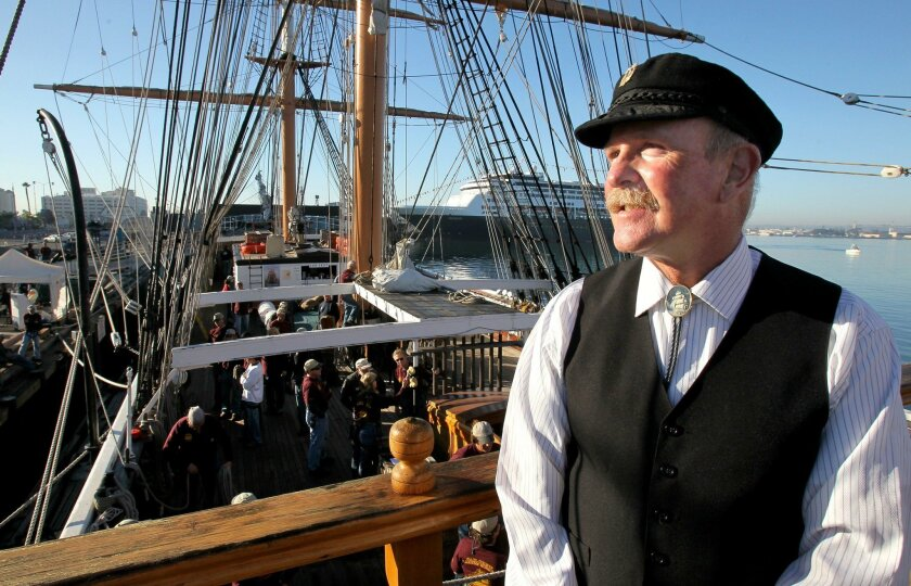 In 2013, Richard Goben, the captain of the Star of India, watched from an upper deck of the ship as it prepared for its first sailing excursion in two years.