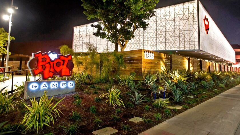 The new Riot Games campus open