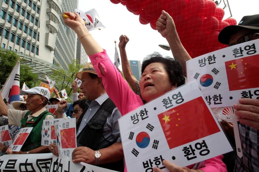 APphoto_South Korea China Summit